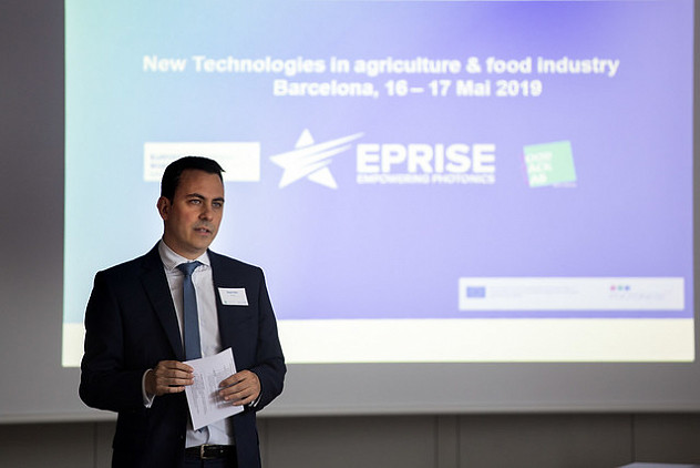 Photonics, packaging, agriculture and food industries are brought together at the European Photonics Roadshow in Barcelona